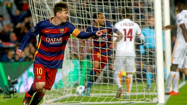 Messi jubelt