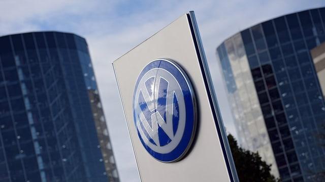 Logo da VW avant bajetgs en Germania.