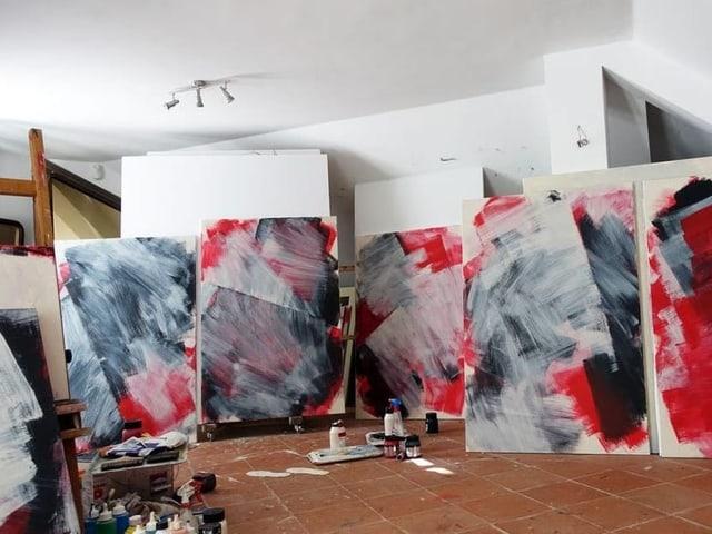 L'artist Flurin Isenring è sa laschà inspirar da l'ovra da sia mamma