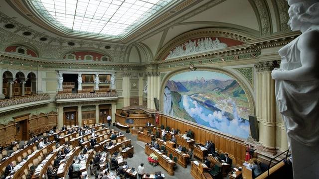 Totale auf Nationalratssaal