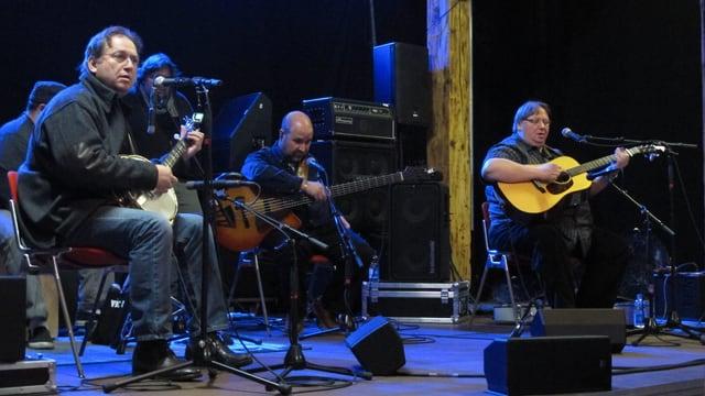 Kruger Brothers auf einer Bühne