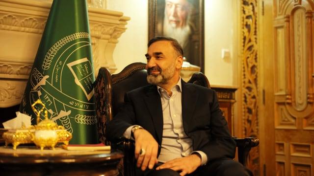 Atta Mohammed Noor war hoher Kommandeur der Vereinigten Front unter Ahmad Shah Massoud.