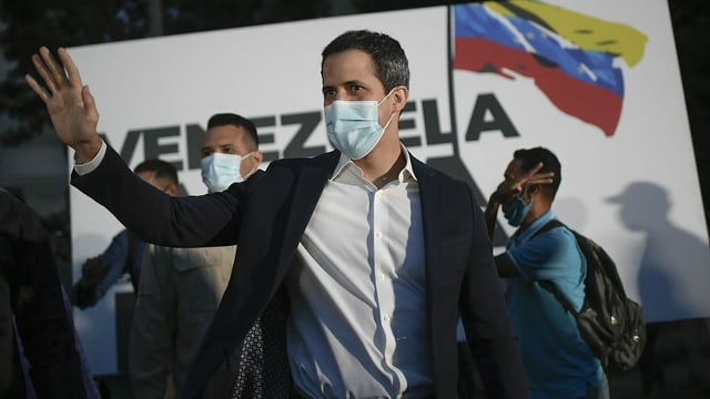 Interimspräsident Guaidó