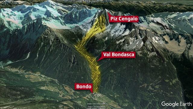 Einer der grössten Bergstürze der Schweiz