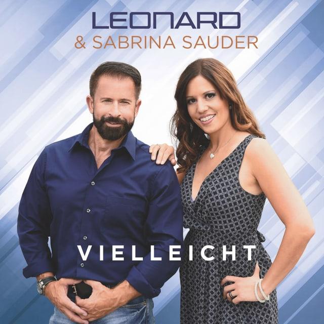 Ein Sänger und eine Sängerin auf dem Cover einer CD.