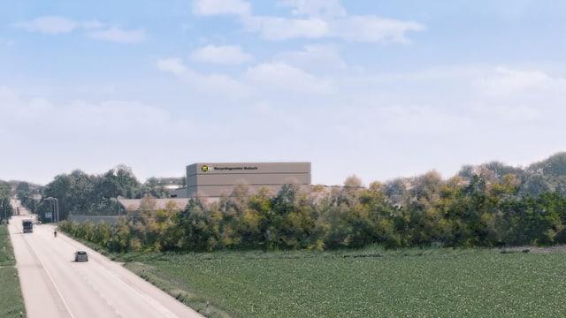 Die geplante Bodenwaschanlage wird gebaut, sie wird aber anders aussehen.
