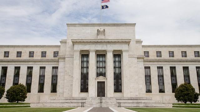 Das Hauptgebäude der US-Notenbank