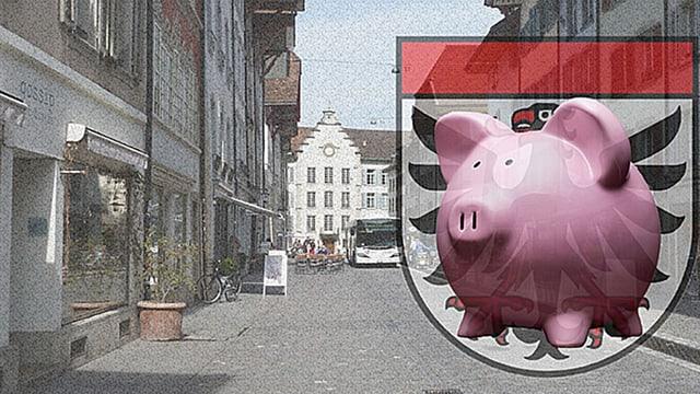Aarau und Sparschwein