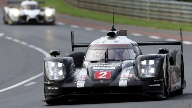 Neel Jani en l'auto da Porsche durant sia gronda victoria