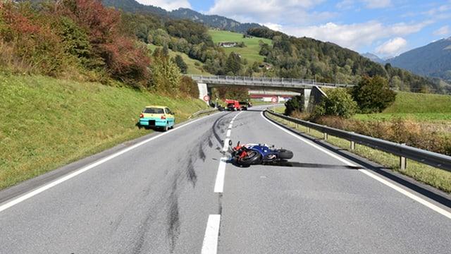 L'accident mortal è succedì sin l'autezza da Grüsch.