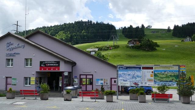 Talstation Bergbahnen Wildhaus