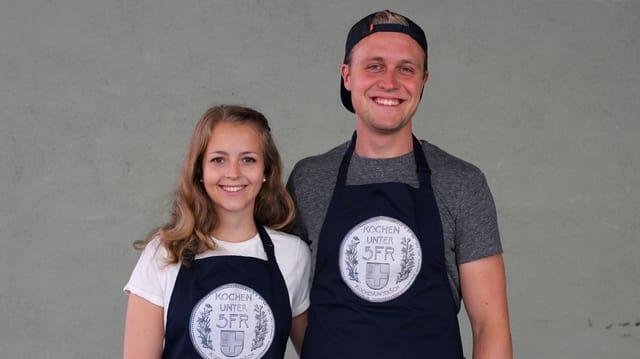 Das Kochteam Muriel und Joel