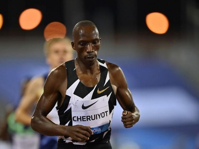 Timothy Cheruiyot am Rennen.