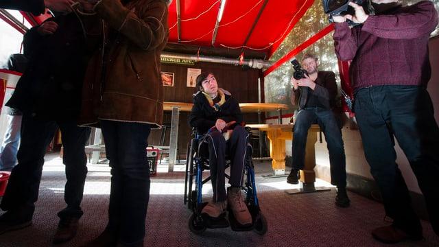Das Opfer: Luca Mongelli, hier bei einer Medienkonferenz der Walliser Behörden im Januar.