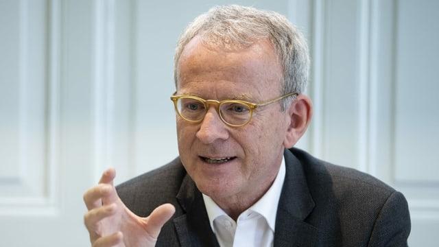 Der Eidgenössische Datenschutzbeauftragte Adrian Lobsiger.