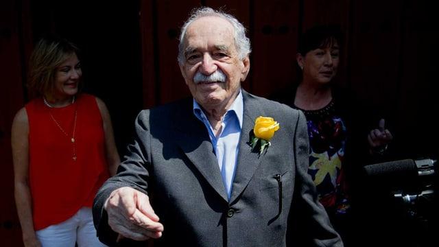 Porträt von Marquez.