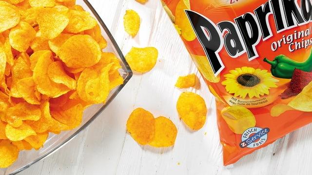 chips da paprica