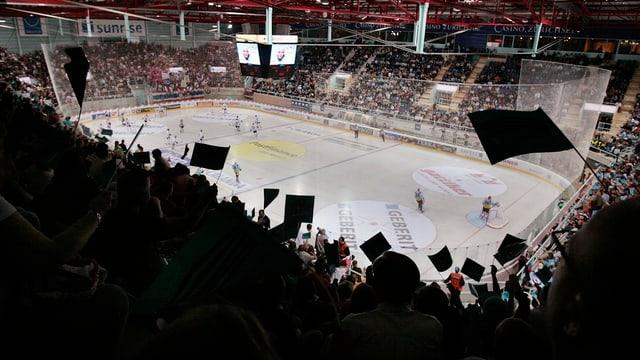 Il stadion da hockey a Rapperswil-Jona. Er in stadion adattà per gieus olimpics?