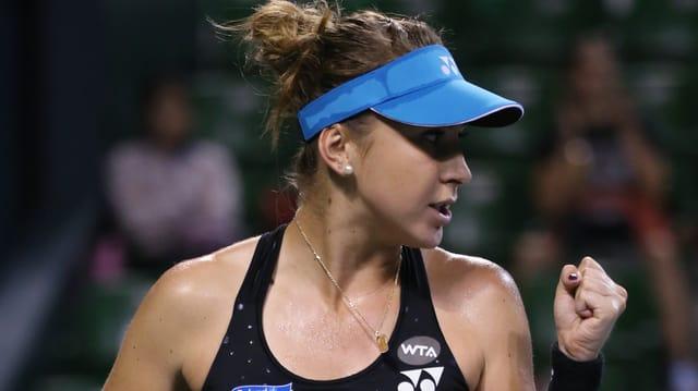 La giugadra da tennis svizra, Belinda Bencic.