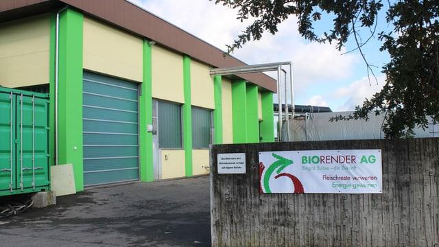 Läuft noch nicht wie geplant: Das Biogas-Werk Biorender.