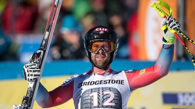 L'American Travis Ganong gudogna a Garmisch.