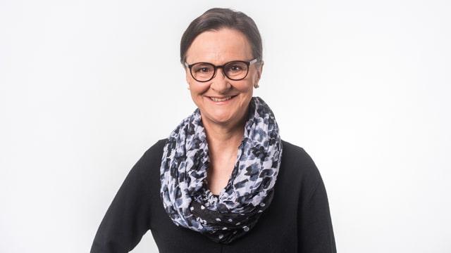 La moderatura dal Radio Rumantsch: Marionna Lombriser