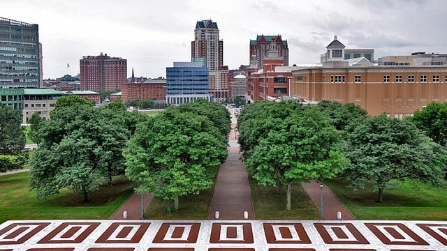 Stadtansicht von Providence.