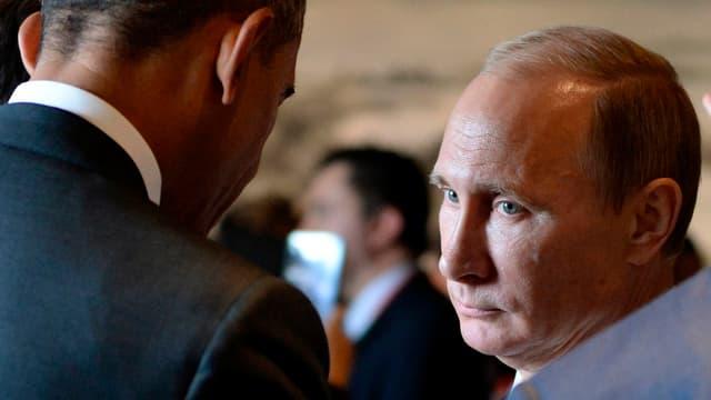 Obama und Putin.