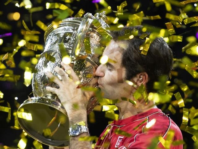 Roger Federer reist voller Selbstvertrauen nach London.