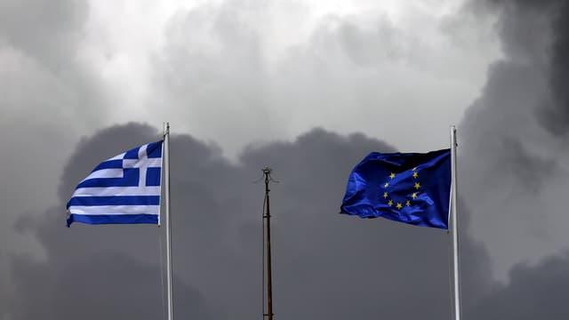 bandiera grezia ed ue