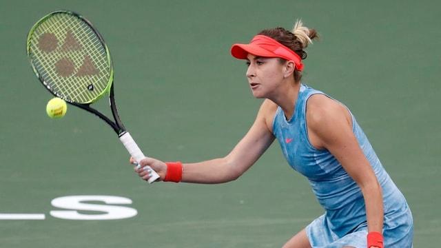 Belinda Bencic che dat tennis.