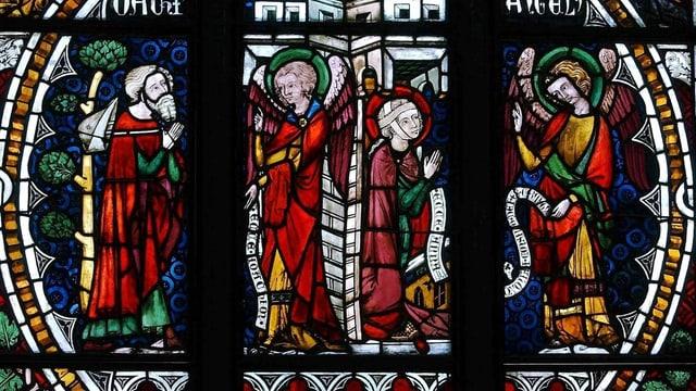 Ein Kirchenfenster