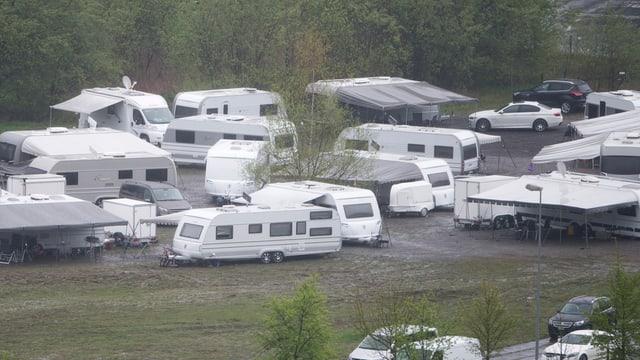 Lager von Fahrenden