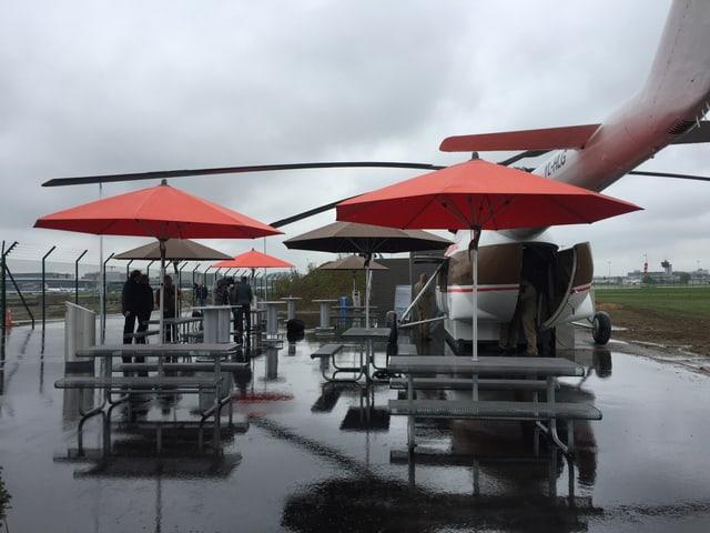 Die neue Aussichtsplattform am Flughafen Zürich