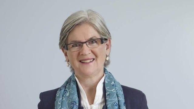 Yvonne Schärli, die Luzerner Justiz- und Sicherheitsdirektorin der SP