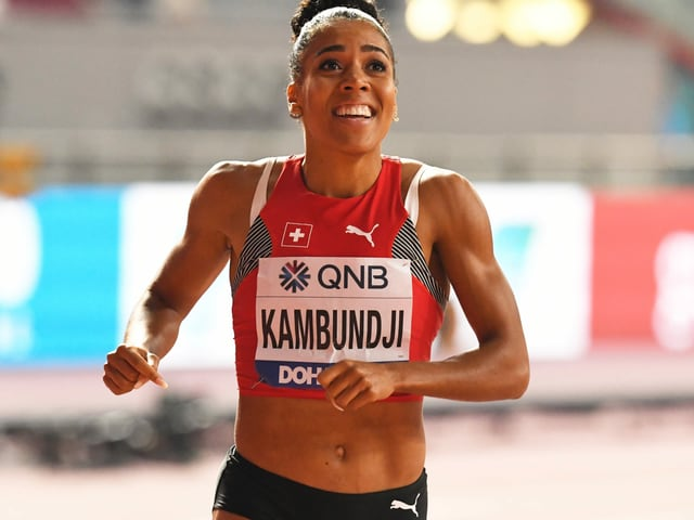 Mujinga Kambundji will ihre Form testen.