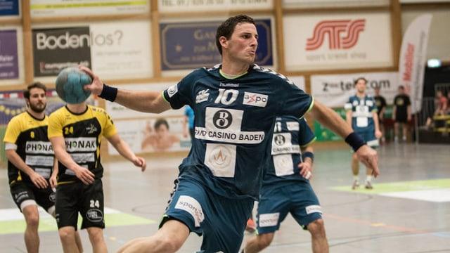 Huwyler in einem Spiel im Mai 2014.