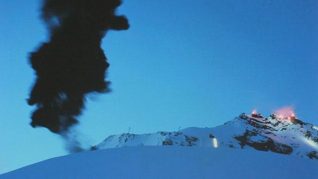 Gletscher-Event «Hannibal», Rettenbach-Gletscher; Ötztal, 2009