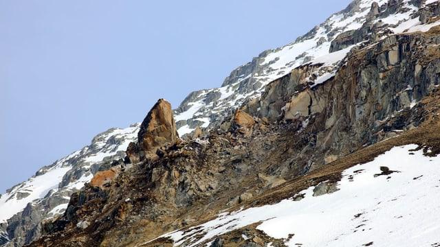 Il lieu en la Val Strem nua che la bova è rutta or.