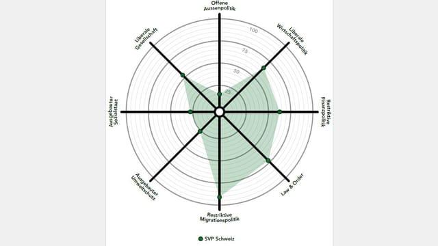 Smartspider-Grafik der SVP