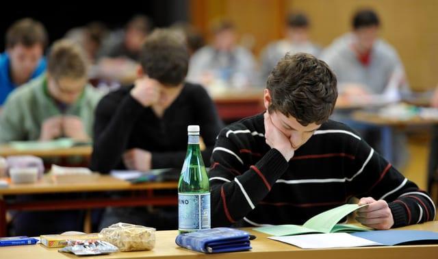 Schüler am Lernen