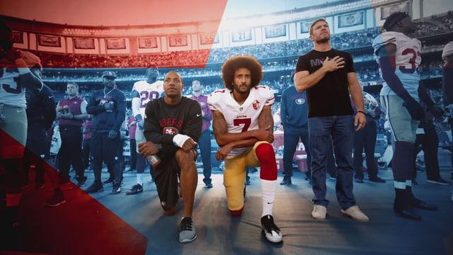 Video «Ein amerikanischer Held – Die Geschichte des Colin Kaepernick» abspielen