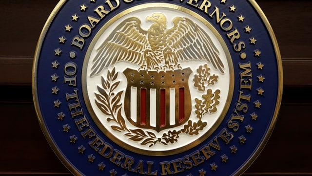 Siegel der US-Notenbank