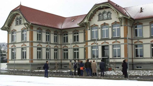 Das Haus 11 der Psychiatrie Wil