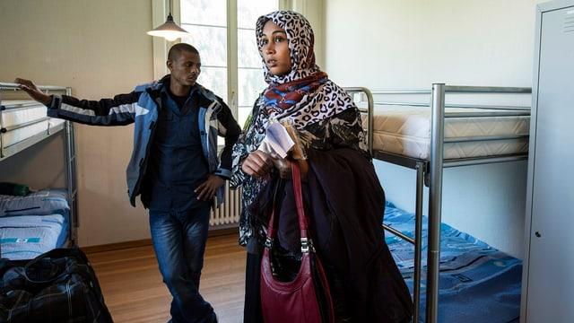 Asylbewerber aus Eritrea (in Unterkunft in Schaffhausen)