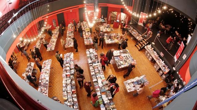 Buchmesse von oben