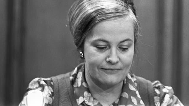 Ein Porträt der niederländischen Schriftstellerin Hella Haasse.