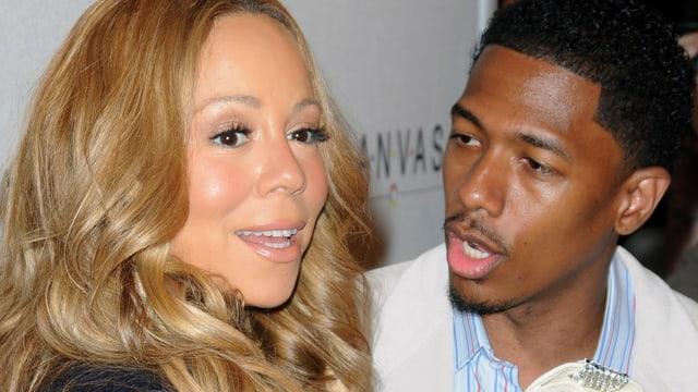 Mariah Carey und Nick Cannon.