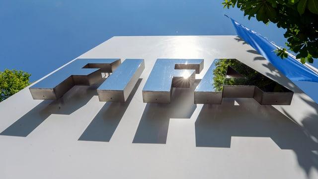 Fifa-Hauptsitz in Zürich.