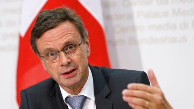 Il president dals directurs da giustia e polizia chantunals Hans-Jürg Käser